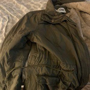 Green jacket XL